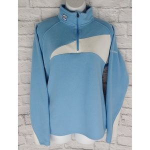Columbia UNC Fleece Pullover, Size Large